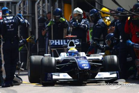 Pitstop of Nico Rosberg, Williams F1 Team, FW31