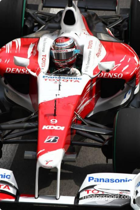 Jarno Trulli, Toyota F1 Team, TF109