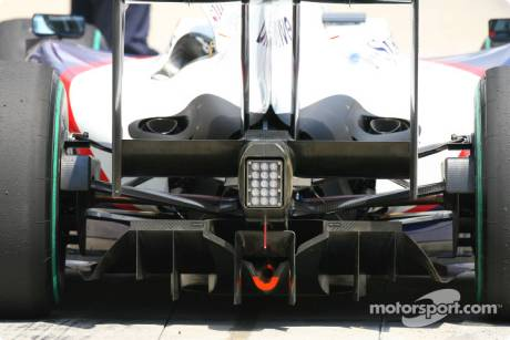 BMW Sauber F1 Team Diffusor