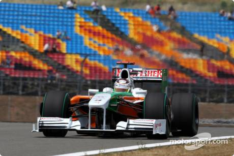 Adrian Sutil, Force India F1 Team, VJM02