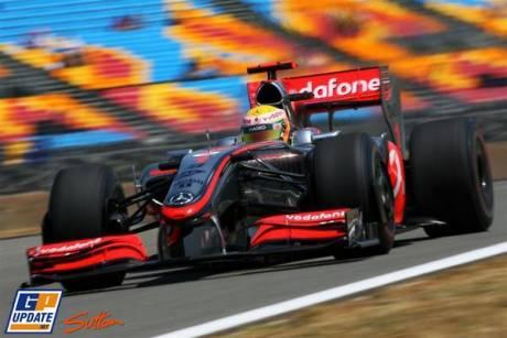 Lewis Hamilton, McLaren Mercedes, MP-24