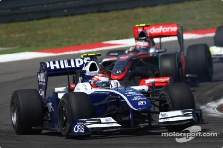 Kazuki Nakajima, Williams F1 Team, FW31