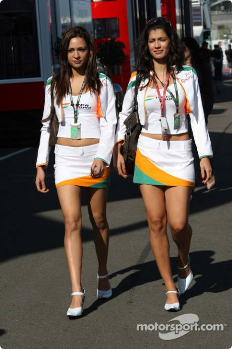 Force India Girls