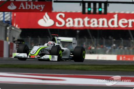 Jenson Button, Brawn GP F1 Team, BGP001