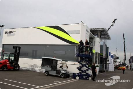 Preperations in the Paddock