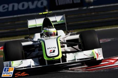 Brawn GP F1 Team, BGP001, Jenson Button