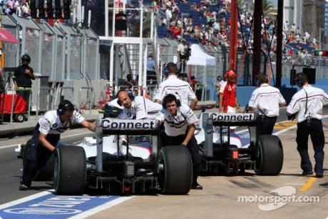 Nick Heidfeld, Robert Kubica, BMW Sauber F1 Team, F1.09