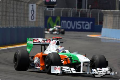 Giancarlo Fisichella, Force India F1 Team, VJM02