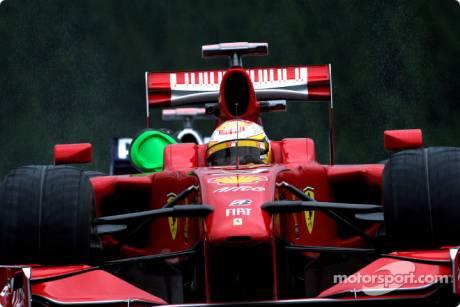 Luca Badoer, Scuderia Ferrari, F60