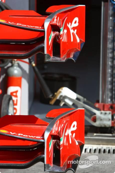 Scuderia Ferrari, Front Wing Endplate