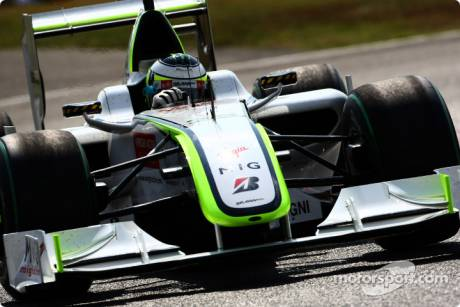 Jenson Button, Brawn GP F1 Team, BGP001