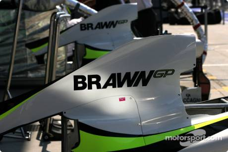 Brawn GP F1 Team Engine Cover