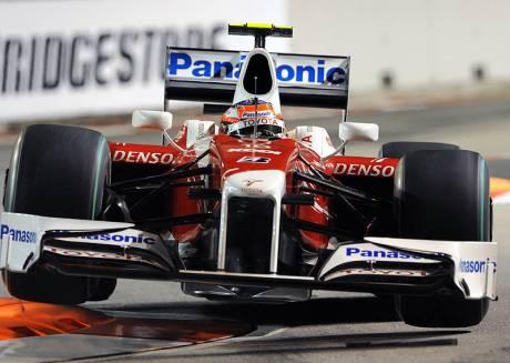 Statistics Singapore Grand Prix of 2009