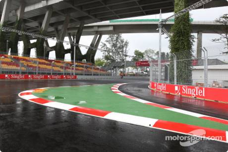 The new Pitlane Exit