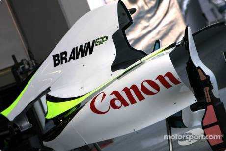 Brawn GP F1 Team, Engine Cover
