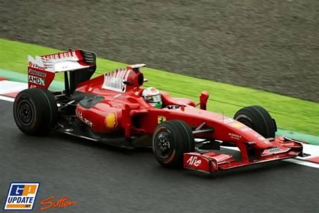 Giancarlo Fisichella, Scuderia Ferrari, F60