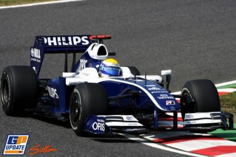 Nico Rosberg, Williams F1 Team, FW31