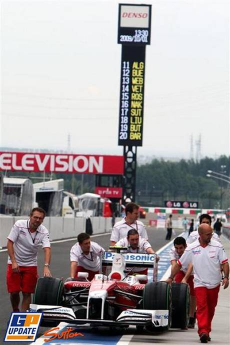 Toyota F1 Team, TF109