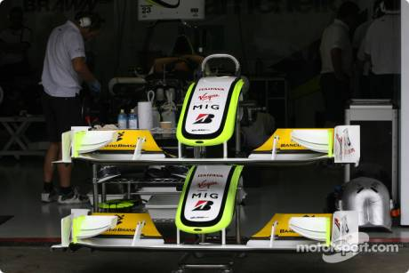 Brawn GP F1 Team; Front Wings