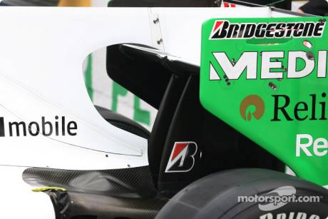 Force India F1 Team; Body Work Detail