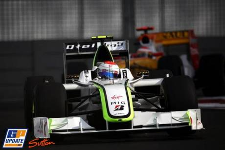 Rubens Barrichello, Brawn GP F1 Team, BGP001