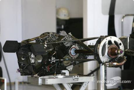 Brawn GP F1 Team, Gear Box