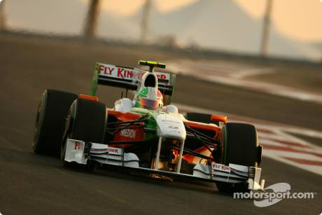 Vitantonio Liuzzi, Force India F1 Team, VJM02