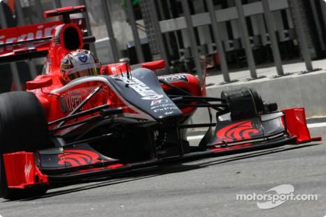Timo Glock, Virgin Racing, VR-01, Loses wheel