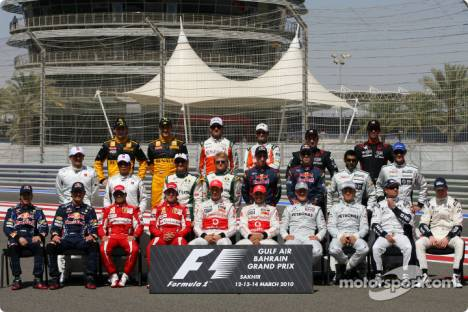 2010 Drivers Group Picture