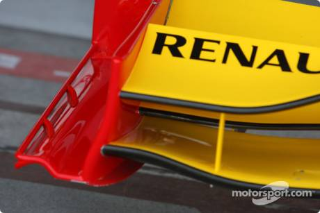 Renault F1 Team, R30, Front Wing Detail