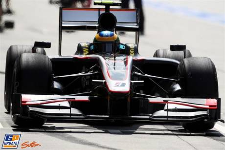 Hispania Racing F1 Team, F110, Karun Chandhok