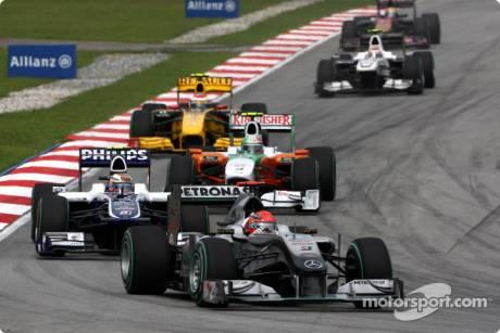 Michael Schumacher, Mercedes GP F1 Team, MPG W01