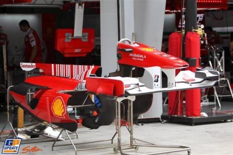 Scuderia Ferrari, F10, Nose Cones