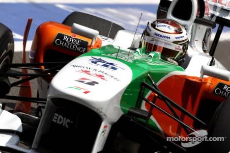 Adrian Sutil, Force India F1 Team, VJM03