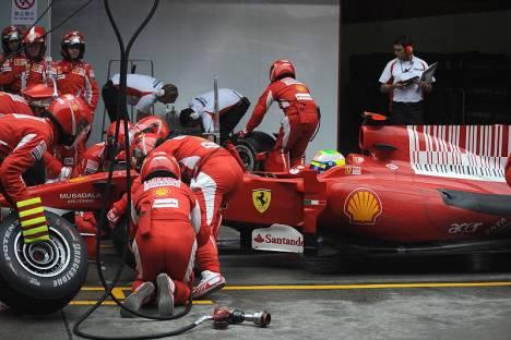 Statistics Chinese Grand Prix of 2010
