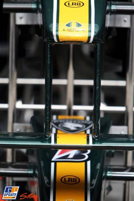 Nose Cones of Lotus F1 Team, T127