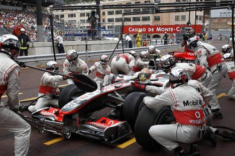 Statistics Monaco Grand Prix of 2010
