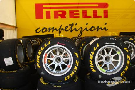 The Pirelli Tyres used for GP3 Racing