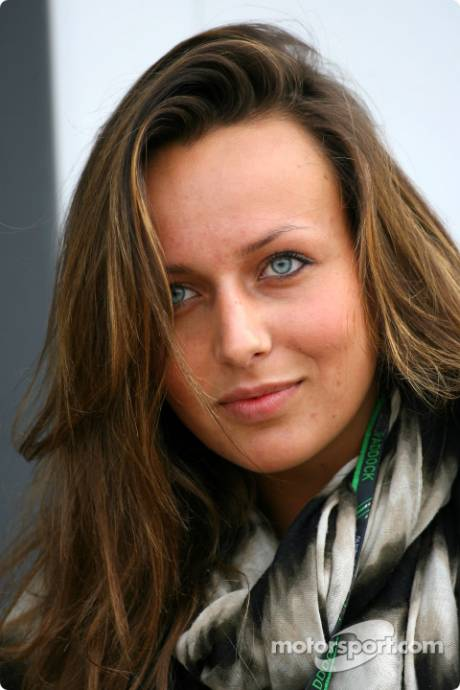 Girl, Guest of Mercedes GP F1 Team