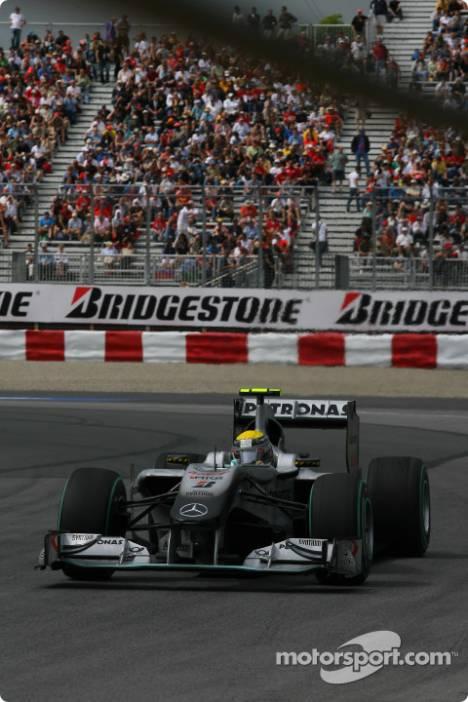 Nico Rosberg, Mercedes GP F1 Team, MGP W01
