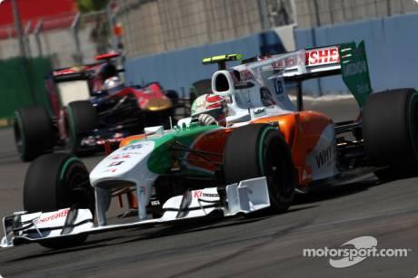 Vitantonio Liuzzi, Force India F1 Team, VJM03