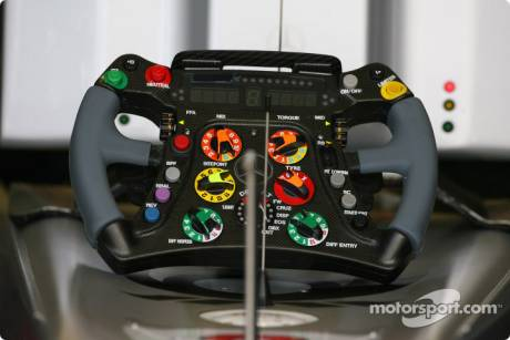 Mercedes GP F1 Team, Steering Wheel