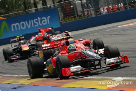 Timo Glock, Virgin Racing, VR-01