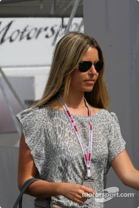 Vivian Sibold, The girlfriend of Nico Rosberg