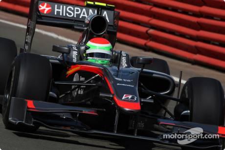 Sakon Yamamoto, Hispania Racing F1 Team, HRT01