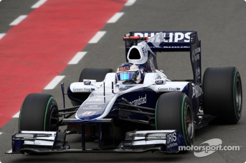 Rubens Barrichello, Williams F1 Team, FW31