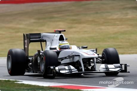 Pedro de la Rosa, Sauber F1 Team, C29