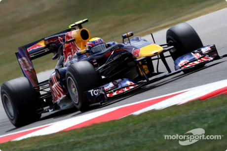 Mark Webber, Red Bull Racing, RB6