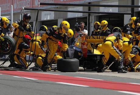 Statistics British Grand Prix of 2010