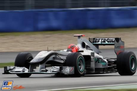 Michael Schumacher, Mercedes GP F1 Team, MGP W01